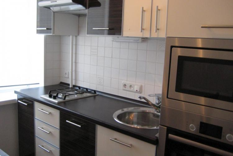 Встроенная техника - Дизайн кухни в хрущевке