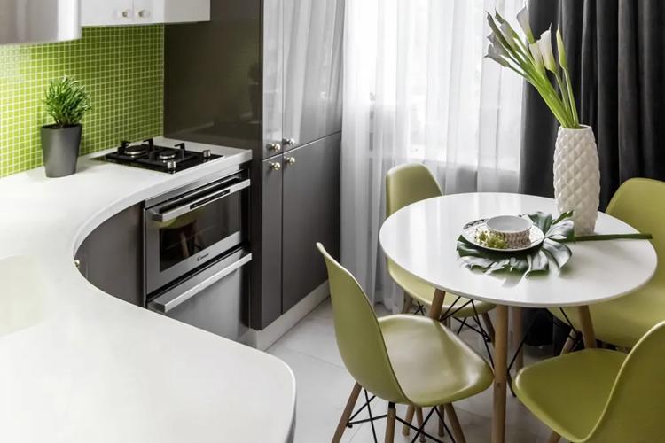 Цвет - Дизайн кухни в хрущевке