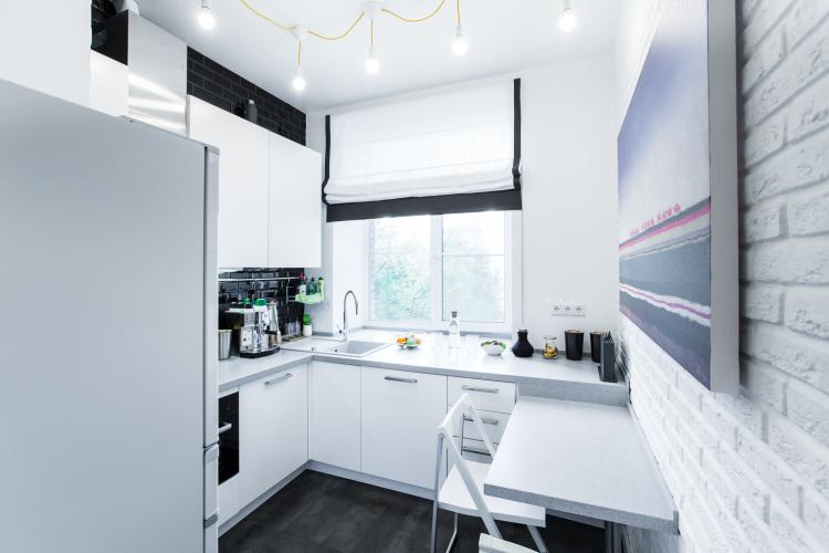 Освещение - Дизайн кухни в хрущевке