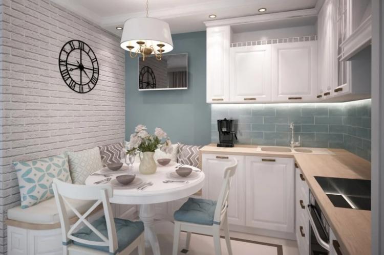 Фактура и материалы - Дизайн кухни в хрущевке