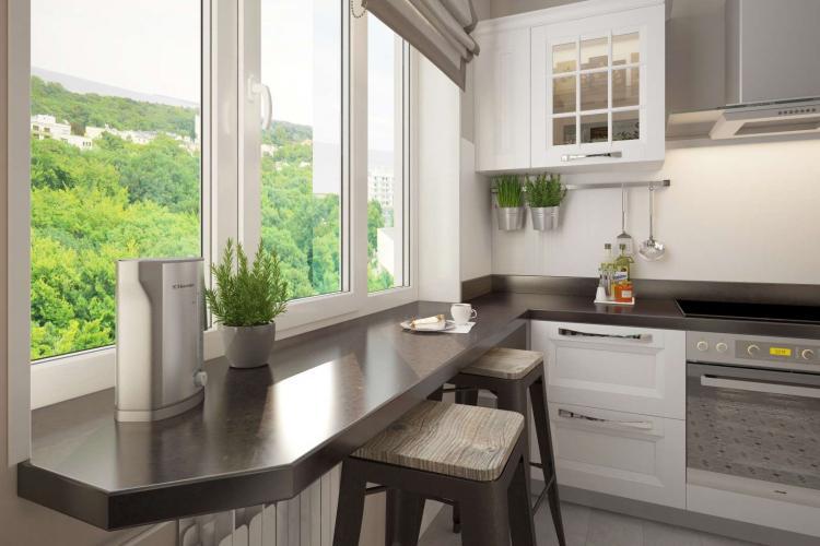 Дополнительные хитрости - Дизайн кухни в хрущевке