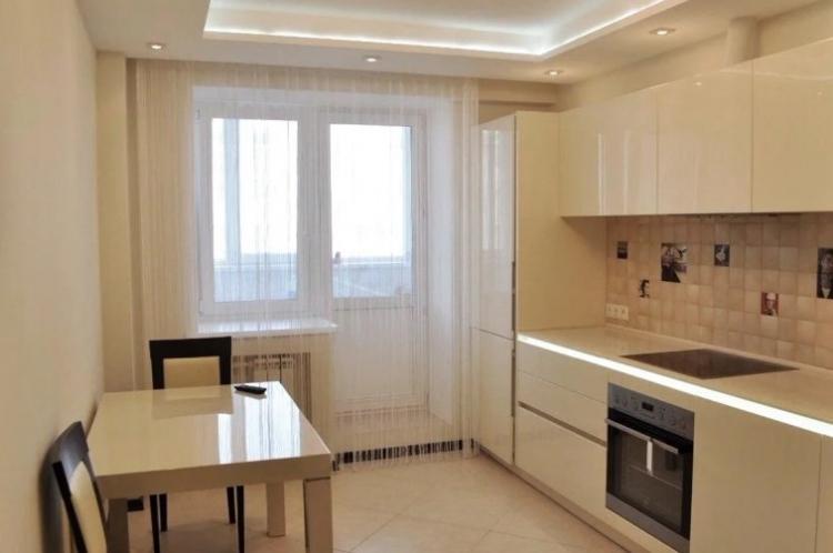 Отделка потолка - Дизайн кухни в хрущевке