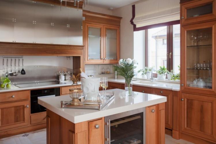 Особенности - Дизайн кухни в классическом стиле