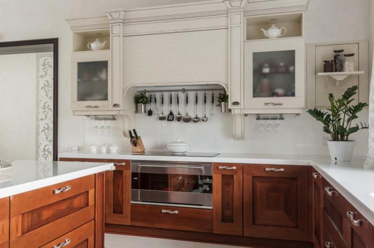 Мебель - Дизайн кухни в классическом стиле