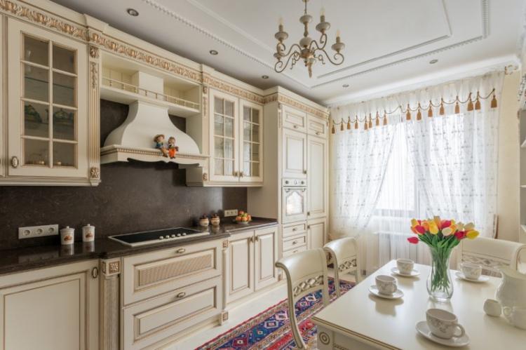 Декор - Дизайн кухни в классическом стиле