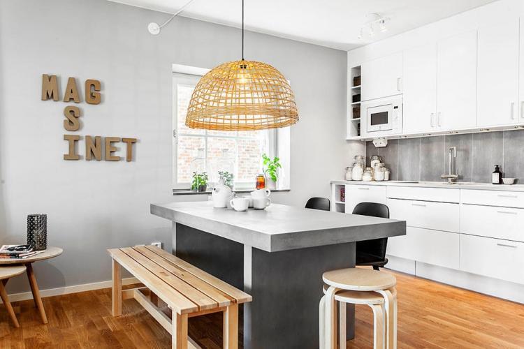 Особенности - Дизайн кухни в скандинавском стиле