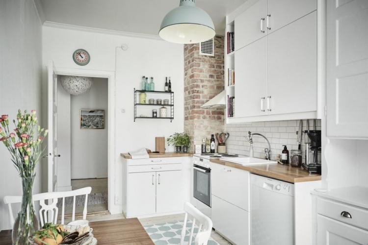 Мебель - Дизайн кухни в скандинавском стиле