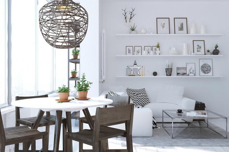Декор - Дизайн кухни в скандинавском стиле