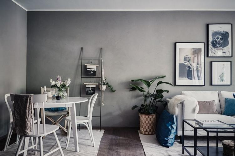 Отделка стен - Дизайн кухни в скандинавском стиле