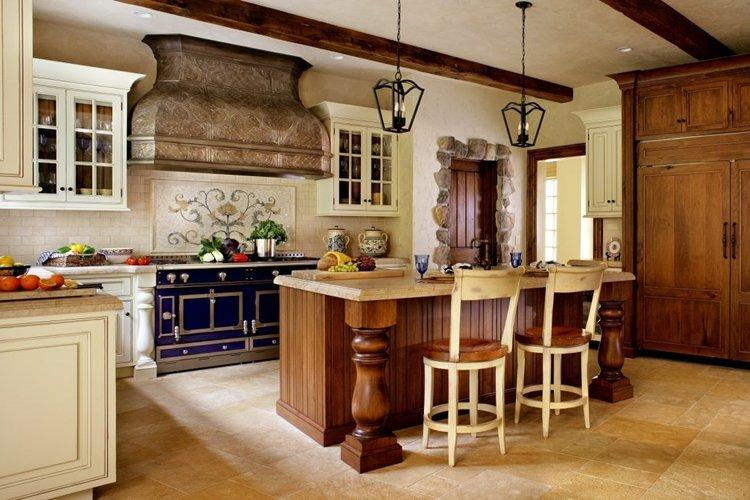 Особенности - Дизайн кухни в стиле кантри