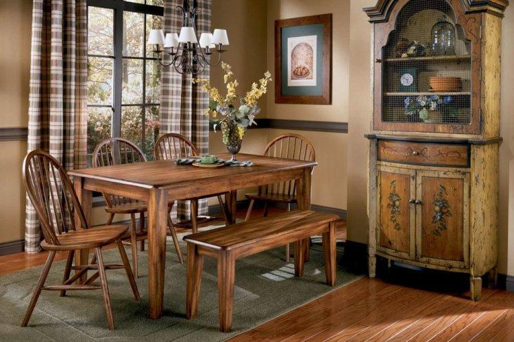Мебель - Дизайн кухни в стиле кантри