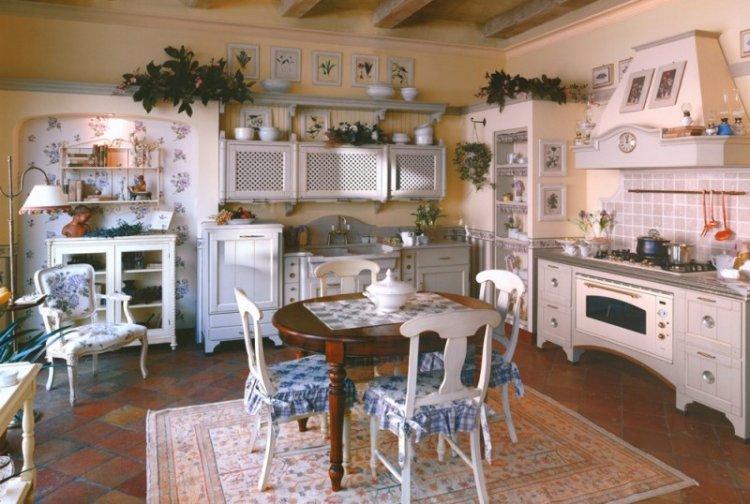 Декор - Дизайн кухни в стиле кантри