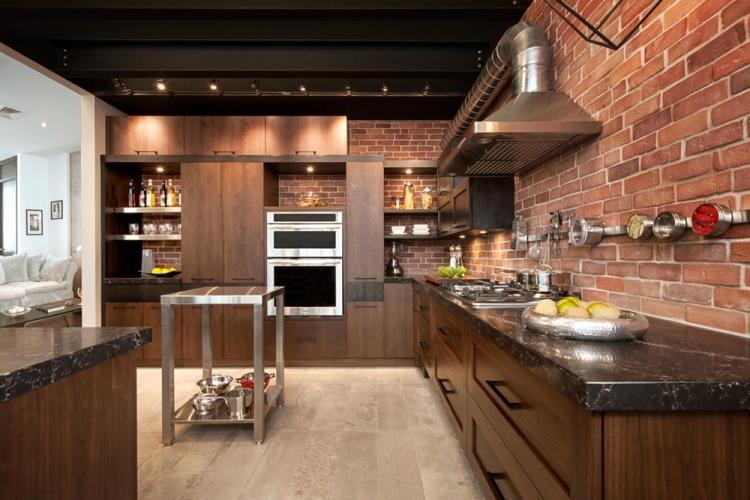 Особенности - Дизайн кухни в стиле лофт