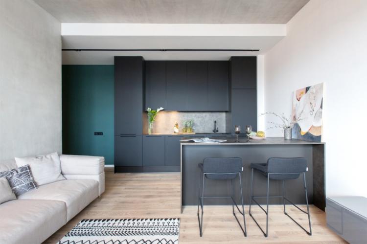 Дизайн кухни в стиле минимализм: 80 фото-идей