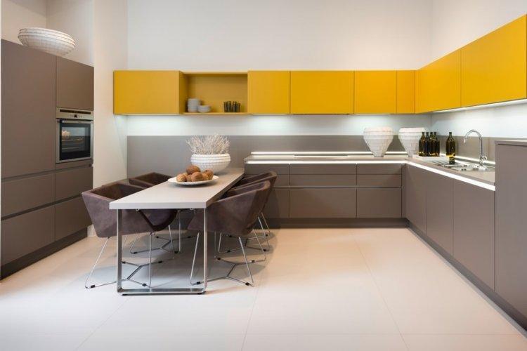 Мебель - Дизайн кухни в стиле минимализм