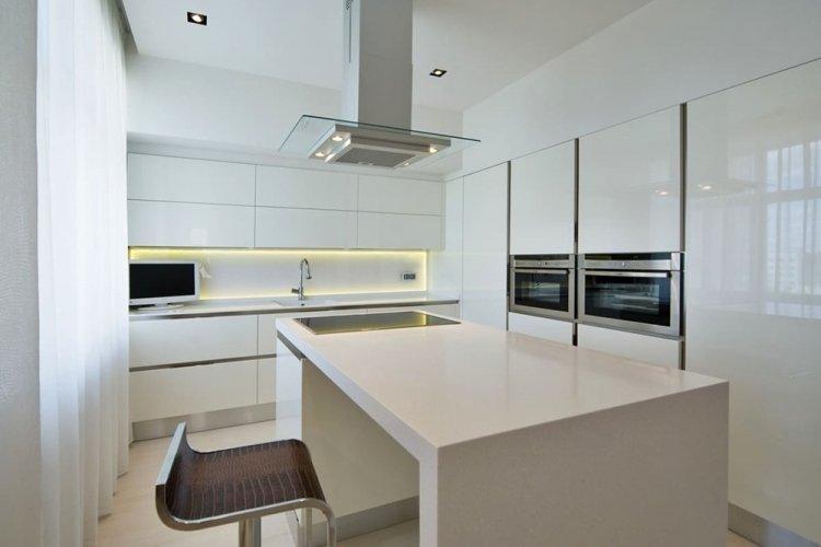 Кухня в стиле минимализм - дизайн интерьера фото