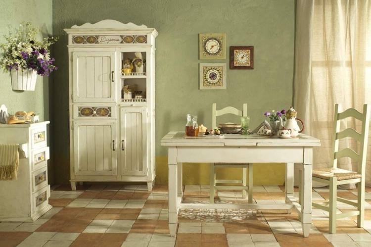 Мебель - Дизайн кухни в стиле прованс