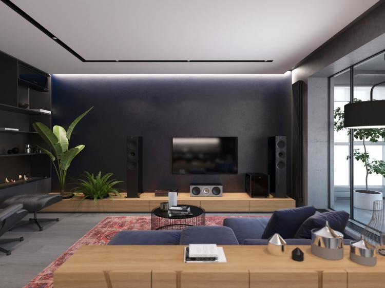 Дизайн квартиры 104 кв.м.