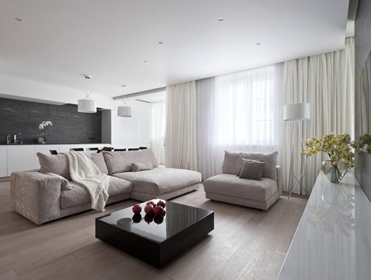 Дизайн квартиры 130 кв.м.