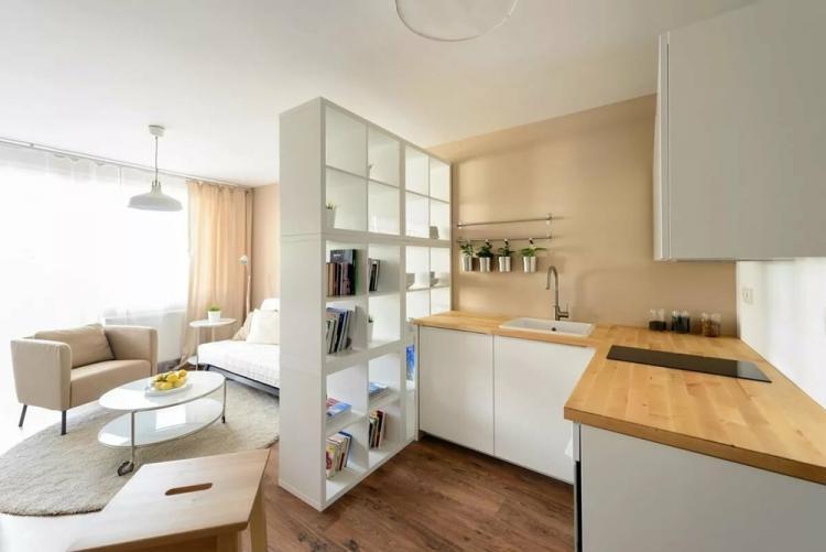 Как расставить мебель в квартире 30 кв.м.