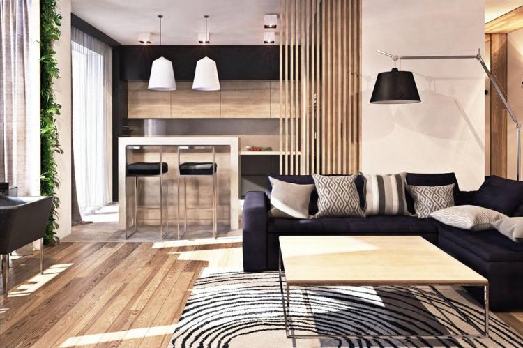 Квартира 30 кв.м. в современном стиле - Дизайн интерьера