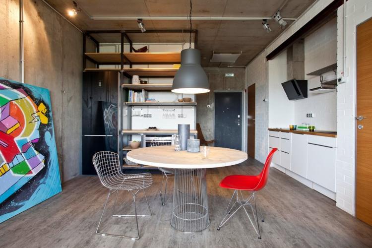 Квартира 30 кв.м. в стиле лофт - Дизайн интерьера