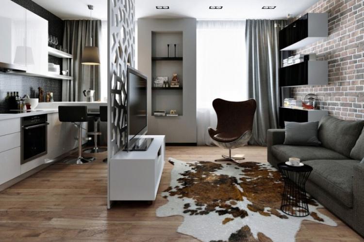 Дизайн квартиры 30 кв.м. - фото