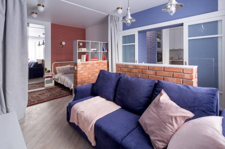 Планирование пространства - Дизайн квартиры-студии