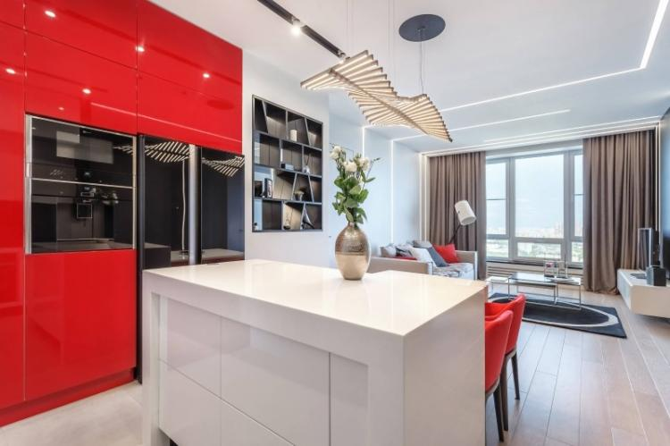 Освещение - Дизайн квартиры-студии