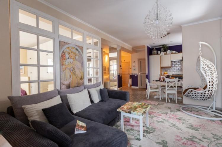 Квартира-студия в стиле прованс - Дизайн интерьера