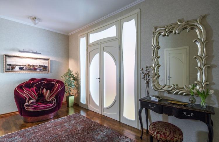 Дизайн квартиры в классическом стиле, Москва