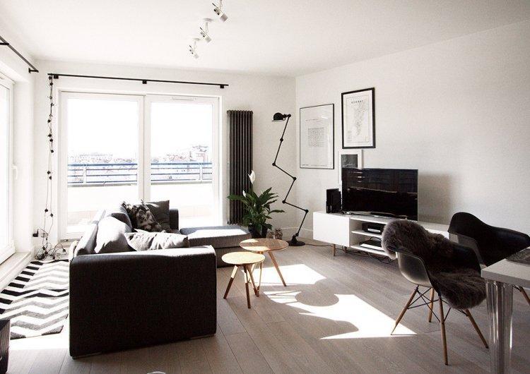 Скандинавский интерьер в Варшаве - Дизайн квартиры в скандинавском стиле