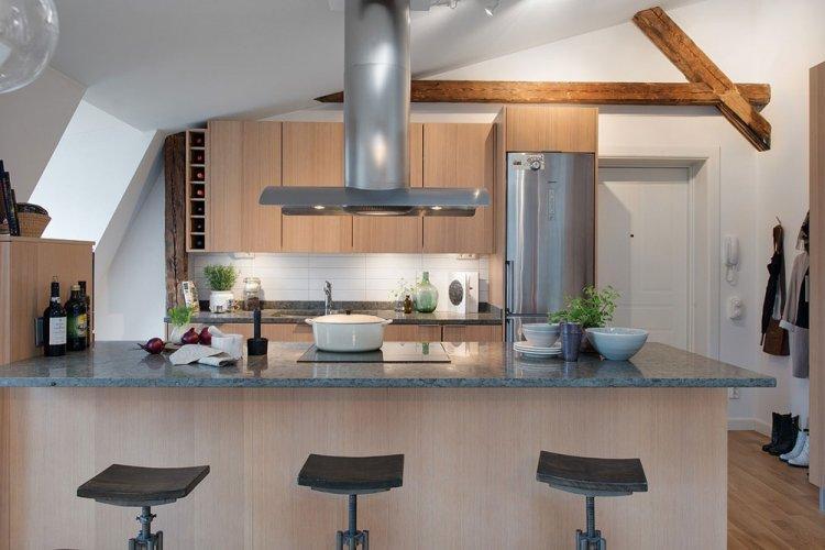 Апартаменты в Боргхольме - Дизайн квартиры в скандинавском стиле