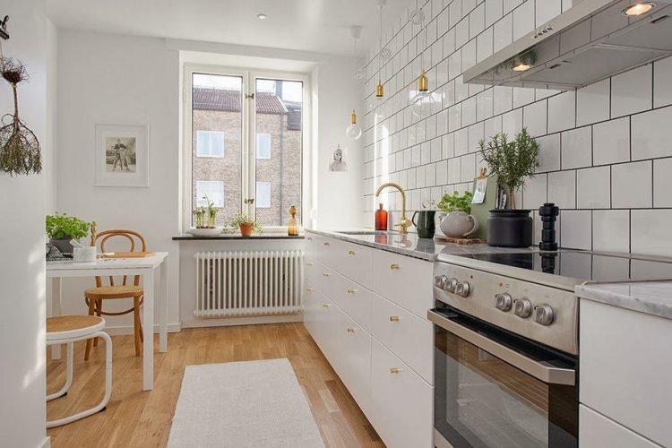 Белоснежная скандинавская квартира - Дизайн квартиры в скандинавском стиле