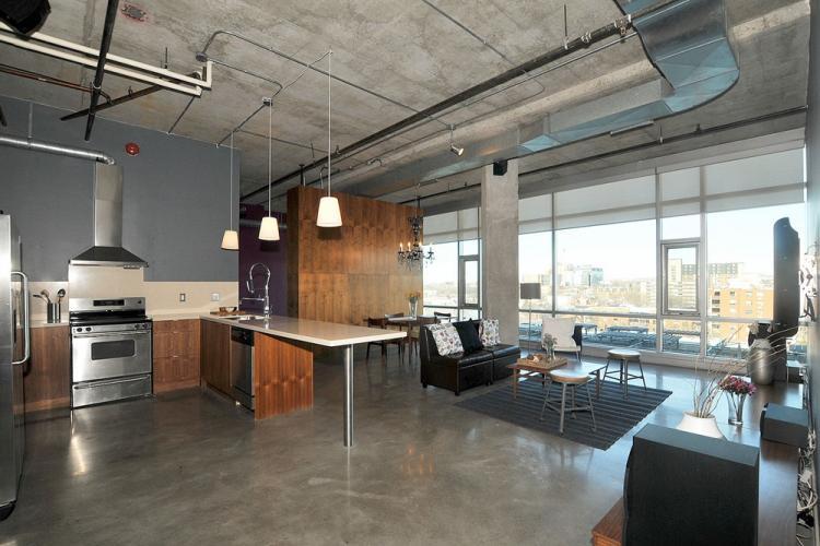 Особенности - Дизайн квартиры в стиле лофт