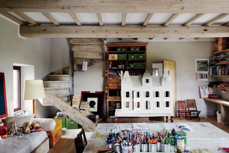 Детская комната - Дизайн квартиры в стиле лофт