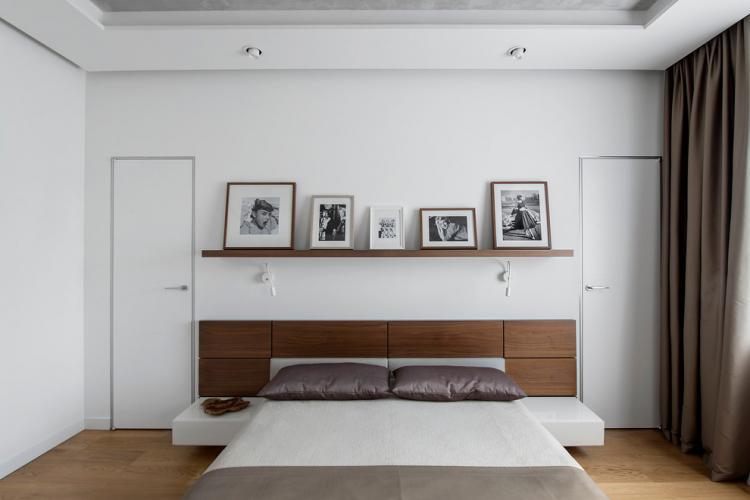 Отделка стен - Квартира в стиле минимализм