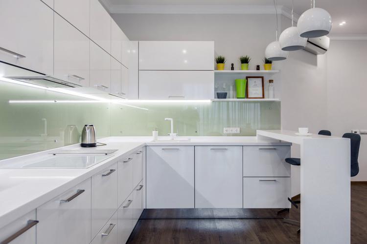 Белый цвет - Цветовая гамма для квартиры в стиле минимализм