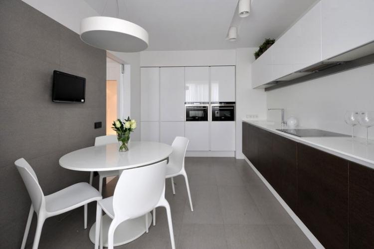 Серые тона - Цветовая гамма для квартиры в стиле минимализм