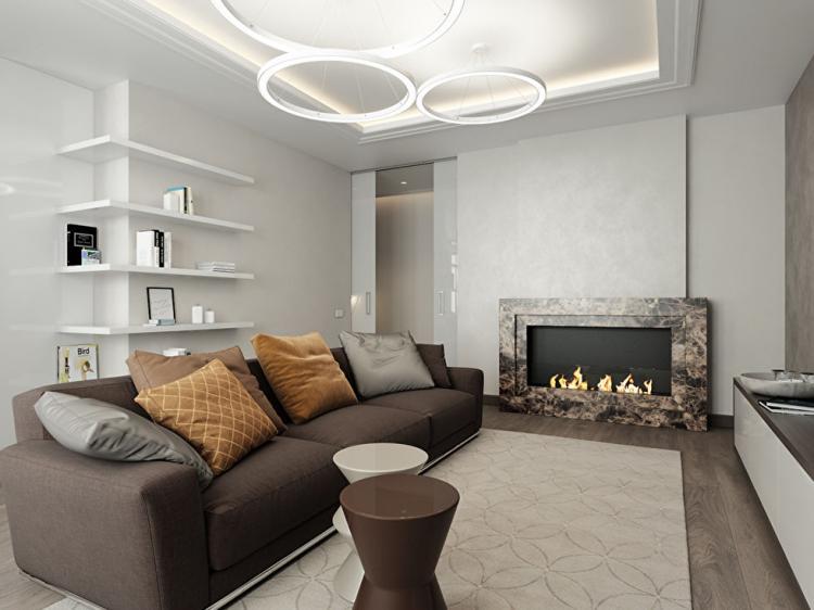 Дизайн квартиры в ЖК «Собрание»