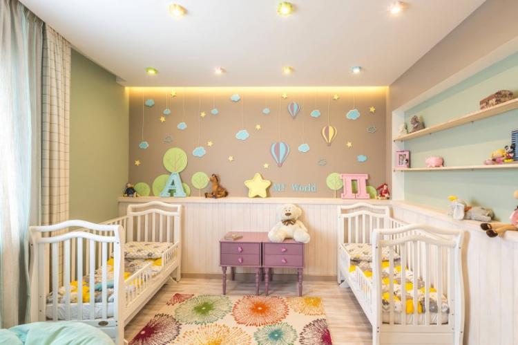 Особенности освещения - Дизайн маленькой детской