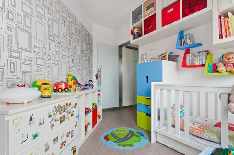 Системы хранения - Дизайн маленькой детской