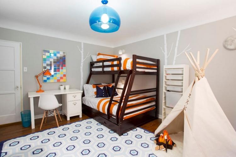 Как обустроить комнату для двоих детей - Дизайн маленькой детской