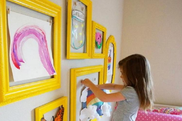 Декор в меру и со вкусом - Дизайн маленькой детской
