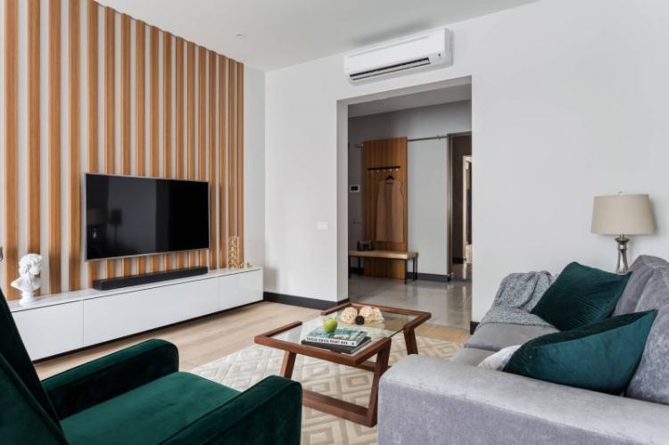 Минимализм в интерьере - Дизайн маленькой гостиной