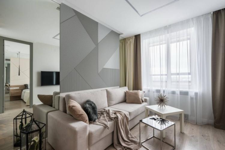 Больше зеркал - Дизайн маленькой гостиной