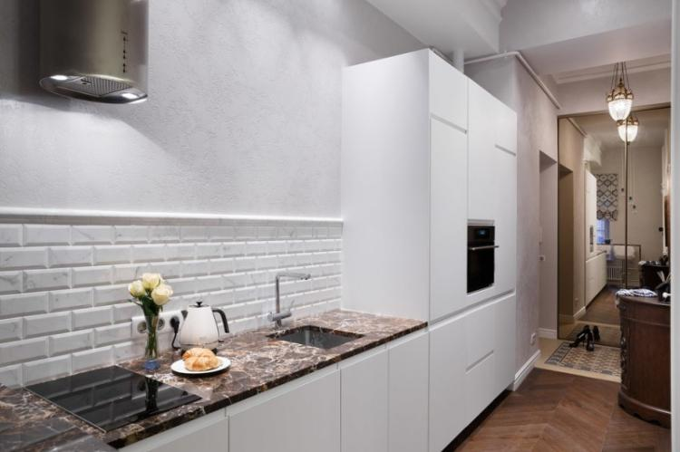 Увеличение полезной площади кухни - Дизайн маленькой кухни