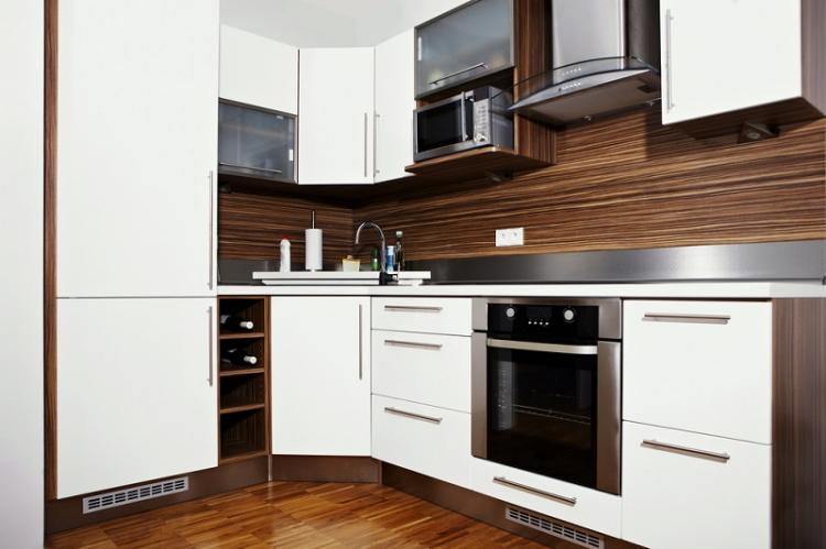 Встроенная и мультифункциональная техника - Дизайн маленькой кухни