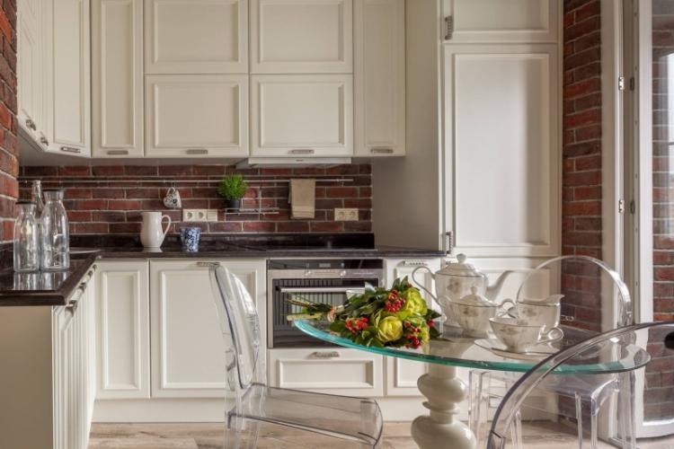 Используй предметы-«невидимки» - Дизайн маленькой кухни