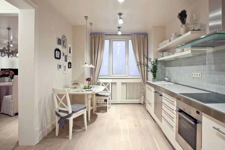 Дизайн маленькой кухни - фото реальных интерьеров